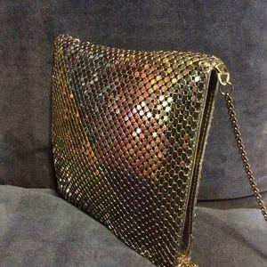 Vintage Bags - Vintage Liquid Mesh Cross Body Bag